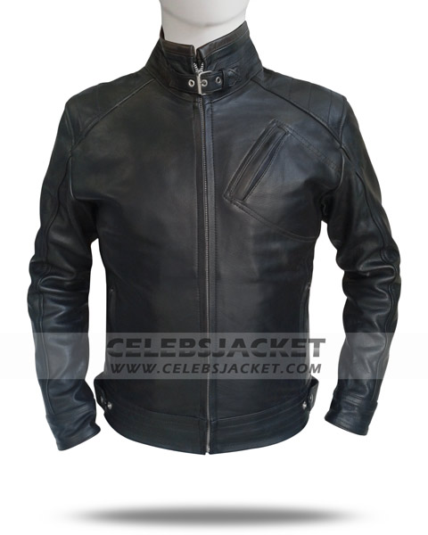 The Bourne Legacy Jacket in Leather - Aaron Cross Jeremy ...