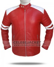 Brad Pitt Mayhem Leather Jacket