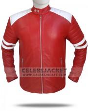 Brad Pitt Mayhem Leather Jacket