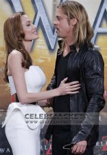 Brad Pitt World War Z Premiere Leather Jacket