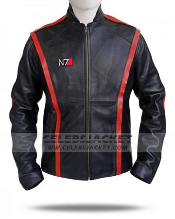 Leather Mass Effect 3 Jacket
