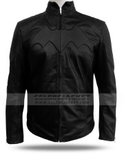 Batman Begins Jacket Leather