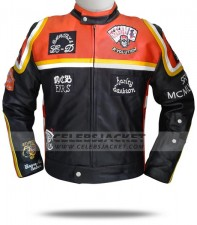 Harley Davidson and Marlboro Man Leather Jacket