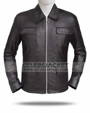 Season 3 The Vampire Diaries Leather Jacket for Sale