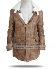 Real leather Bane coat