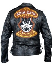 Fallout 4 Black Atom Cats Jacket