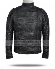 leather bucky barnes jacket vest