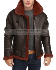 B3 Bomber Shearling Jacket Winter