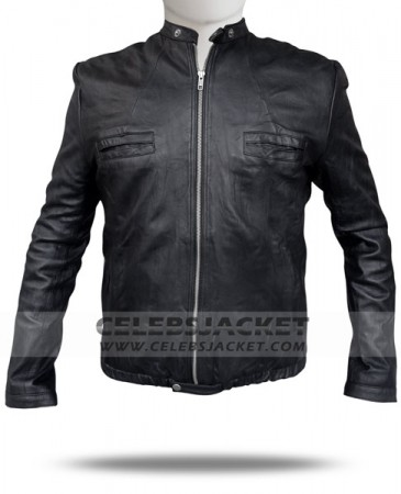 Zac Efron Jacket Leather Oblow