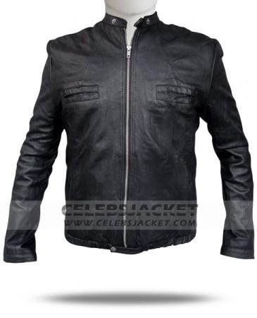 Zac Efron Jacket Leather Oblow