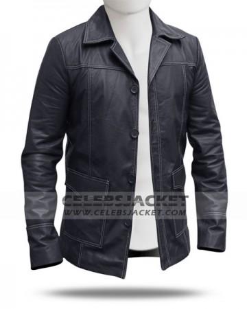 Black Tyler Durden Coat from Fight Club