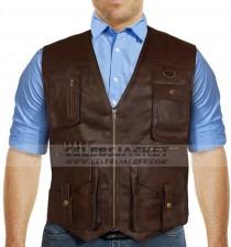 chris pratt leather vest jurassic world 2