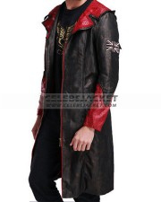 Devil May Cry 5 Leather Game Hooded Coat