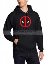 Black Hoodie Deadpool Logo