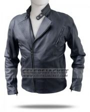 Iron Man Tony Stark Motorcycle Leather Jacket