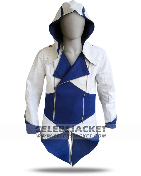 White Conner Kenway Assassins Creed 3 Jacket