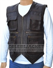 leather jurassic world vest for sale