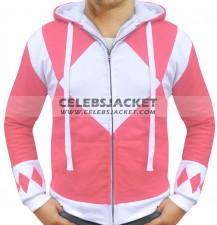 Power Rangers Hoodie Pink