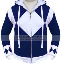 Power Rangers Hoodie Blue