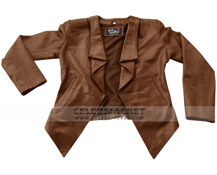 Brown Leather Jackets For Girls - Jacket