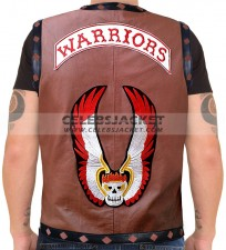 the warriors leather vest for sale