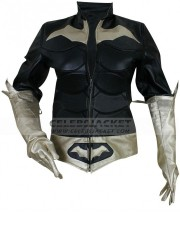Batman Arkham Batgirl Leather Jacket