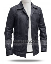 Black Tyler Durden Coat from Fight Club