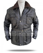 Black Bane Jacket The Dark Knight Rises 2012