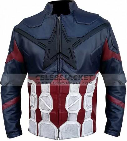 avengers infinity war jacket by steve rogers