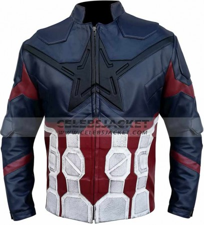 Avengers Infinity War Captain Jacket