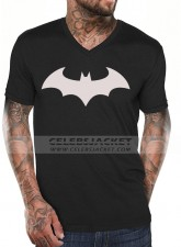 Black T-Shirt With Front Batman Logo