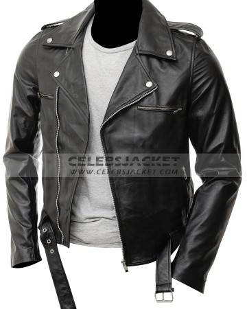 d18bf6171 Negan Jacket Leather | The Walking Dead Season 7 Jacket