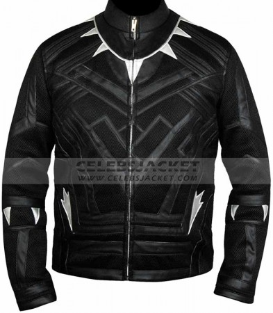 avengers infinity black panther jacket