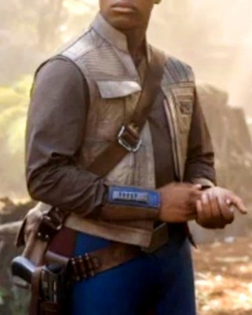 Star Wars Rise of the Sky Walker Finn Leather Vest
