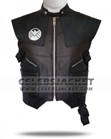 Leather Hawkeye Vest for Sale