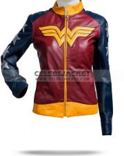 Wonder Women Jacket Leather