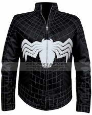 venom leather costume jacket
