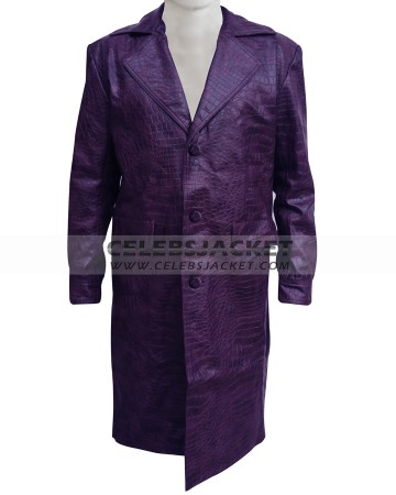 Crocodile pattern joker coat