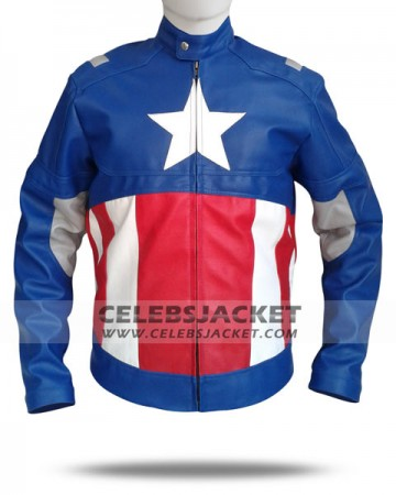 Leather Avengers 2012 Jacket