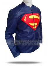 Man of Steel Jacket Leather