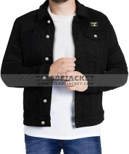 Yellowstone Rip Wheeler Black Cotton Jacket