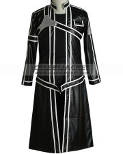 Sword Art Online Kirito Coat Leather