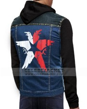Infamous Second Son Costume Hoodie Vest