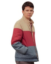 Asa Butterfield Sex Education Otis Milburn Satin Jacket