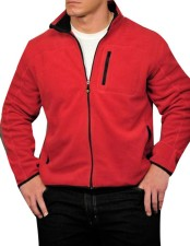 John Cena Red Wool Jacket