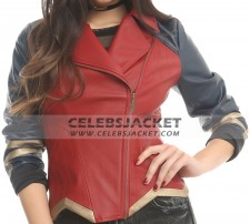 Wonder Woman Leather Jacket DC Comics